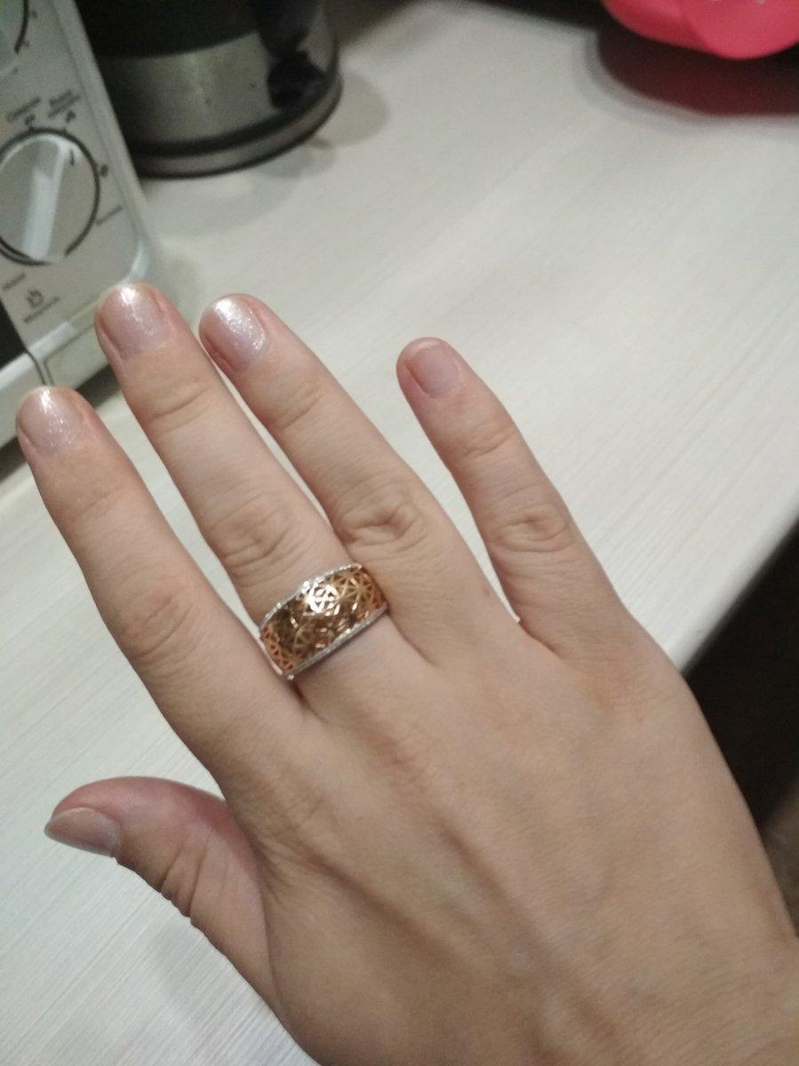 Шикарное кольцо с бриллиантами
