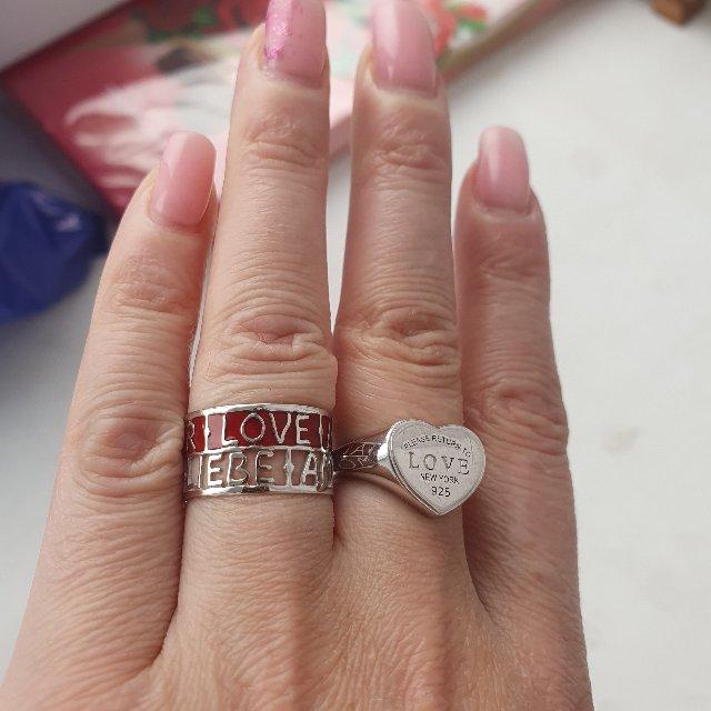 Красивое оригинальное кольцо