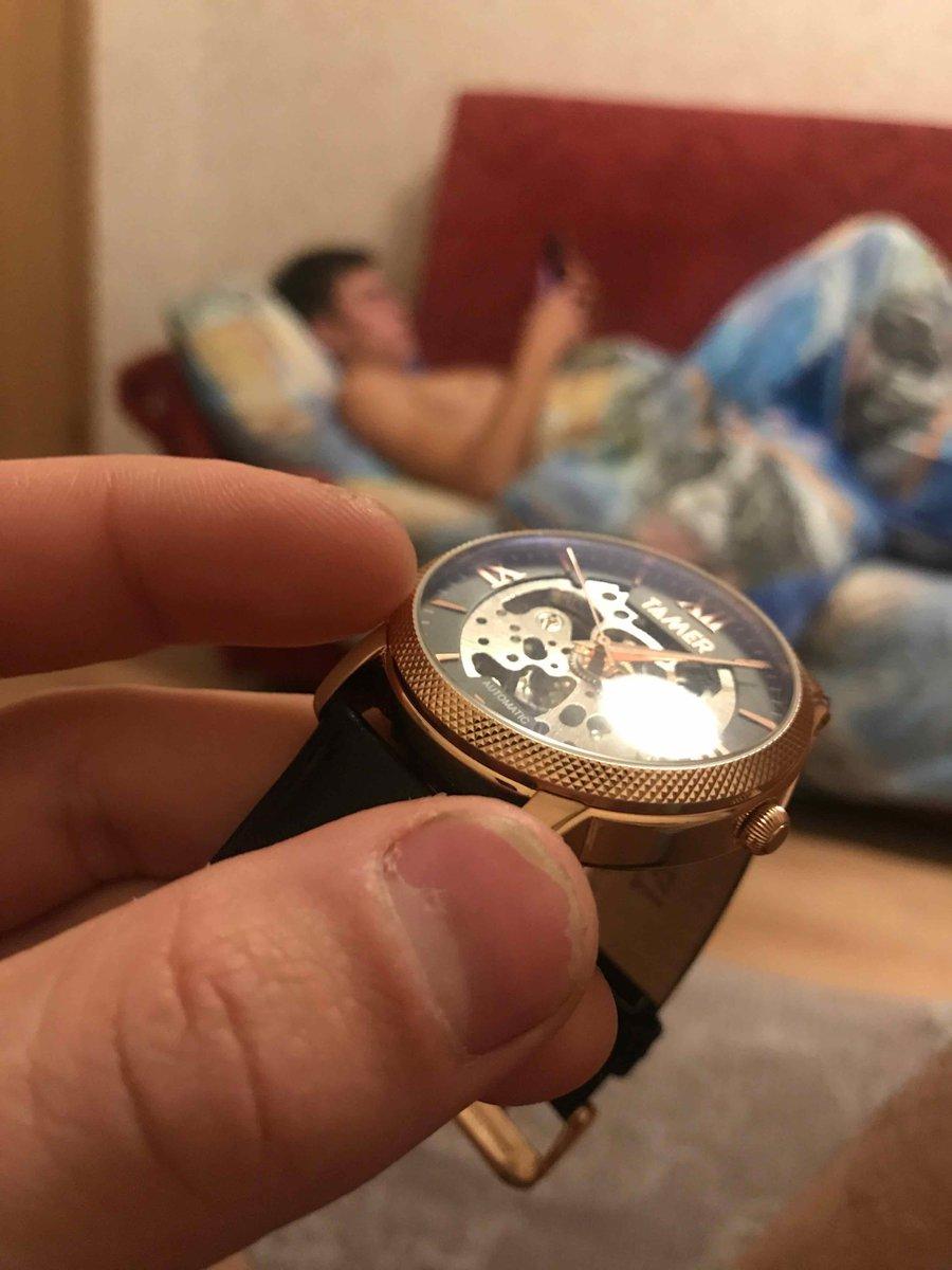 Приобрел часы