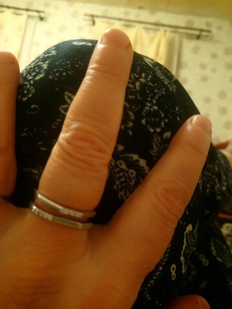Серебреное кольца