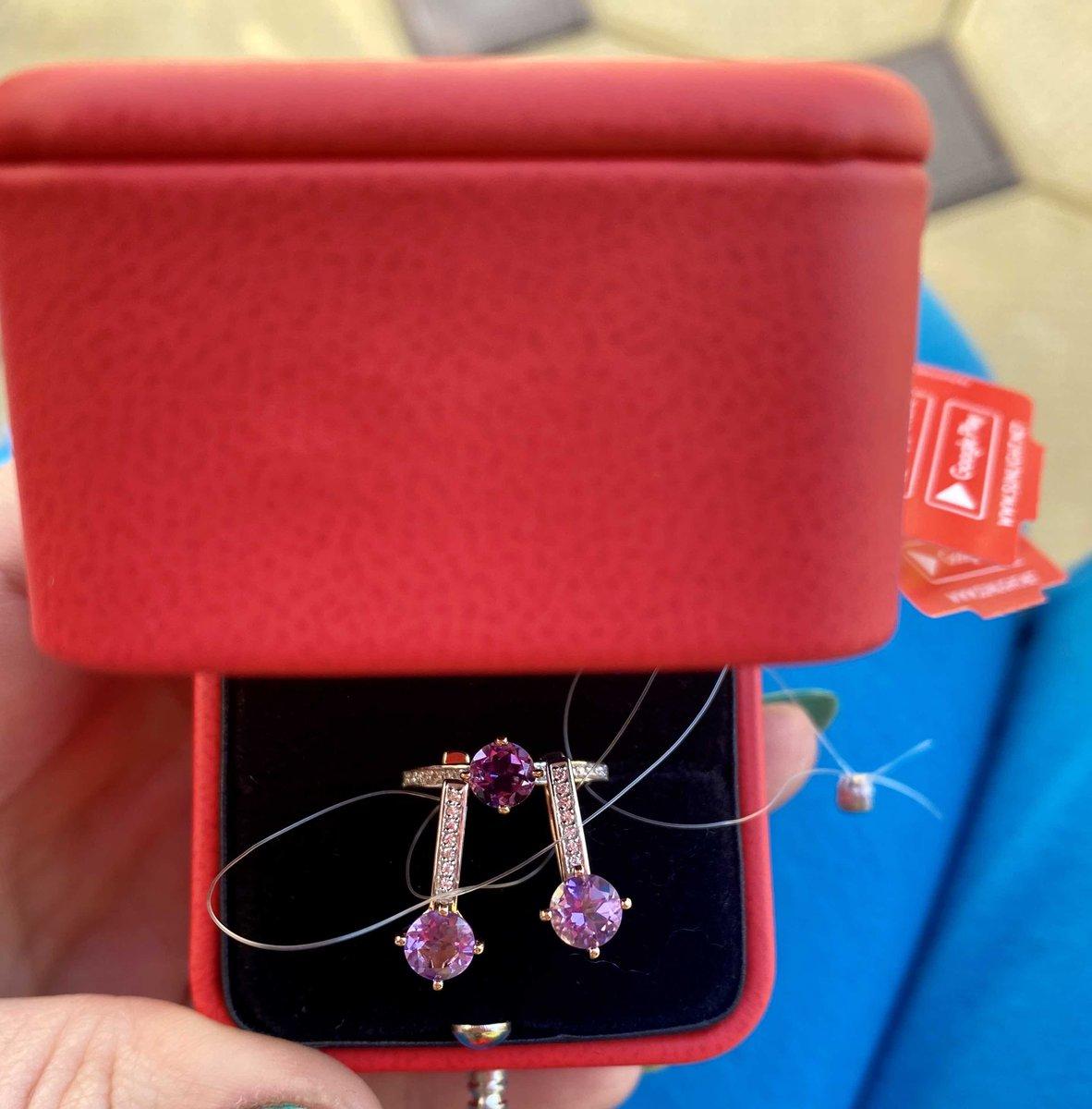 Спасибо большое , очень красивое , нежное кольцо!