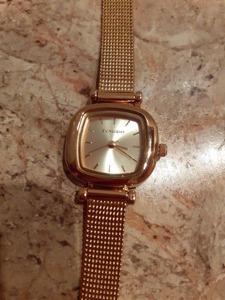 Часы под золото