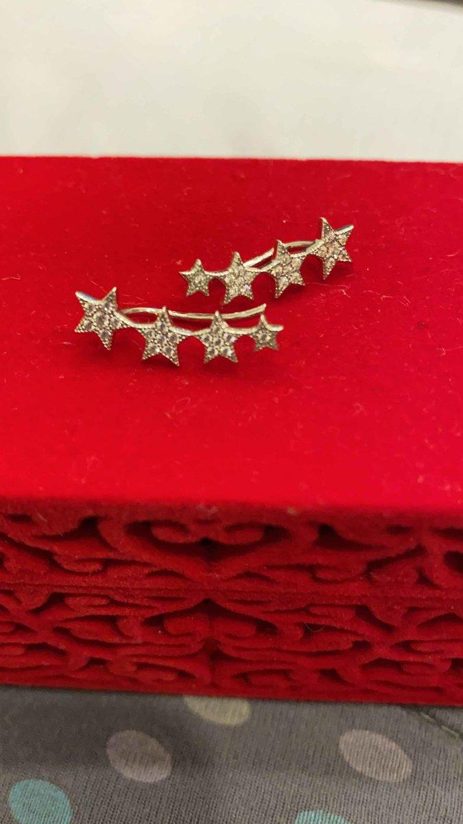 Серьги-звезды