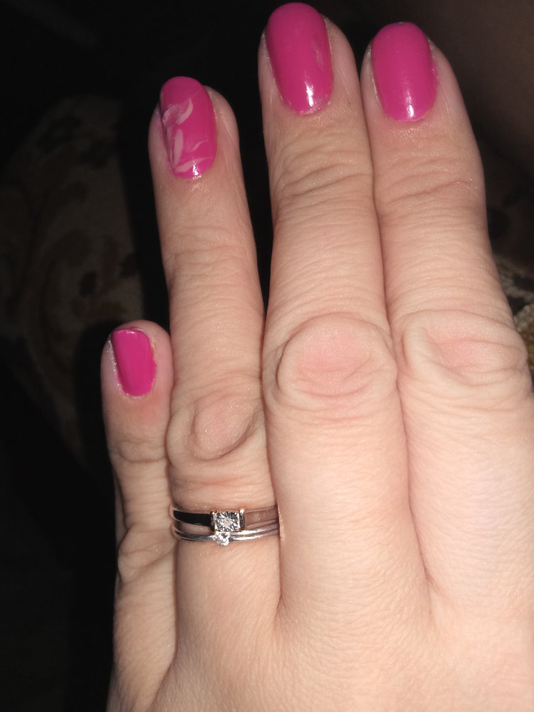Кольцо серебряное с крошкой бриллиантовой !!!