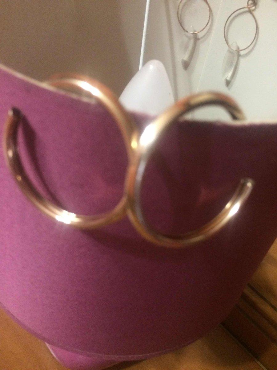 Кольца серьги с позолотой
