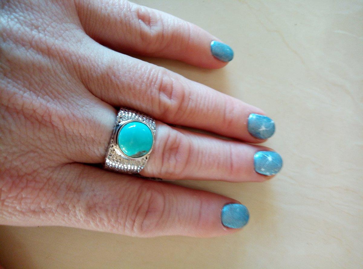 Мне очень хотелось кольцо с бирюсой.