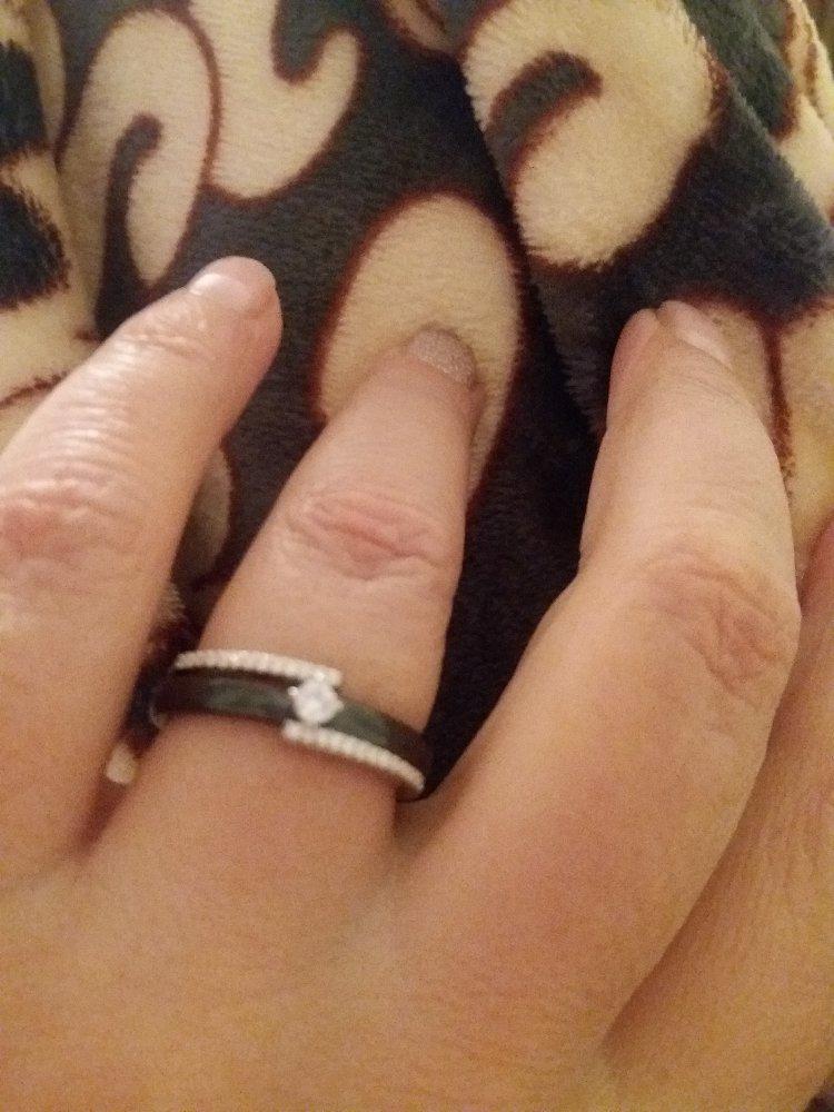 Невероятно изящное кольцо