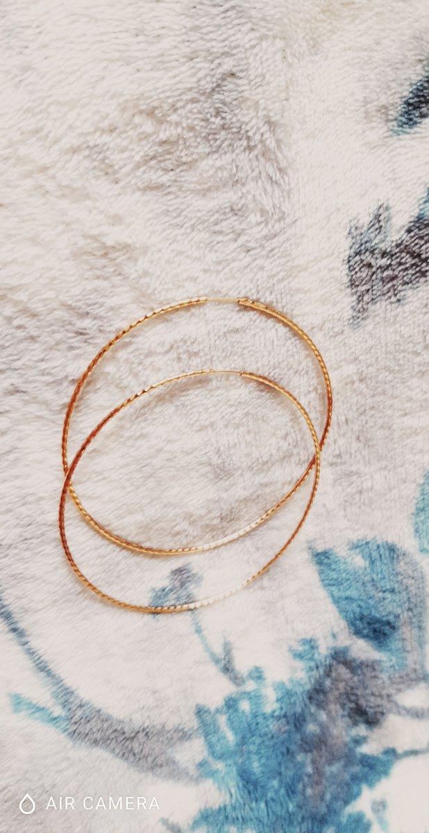 Красивые большие серьги-кольца
