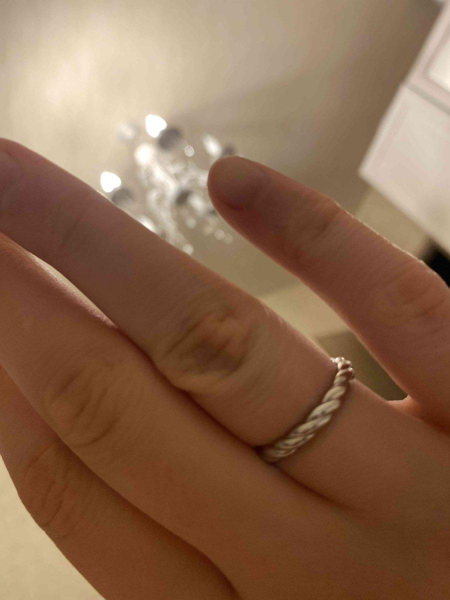 Простое и красивое кольцо