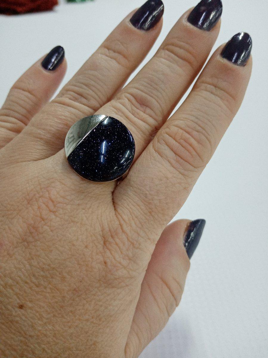 Авантюрин кольцо