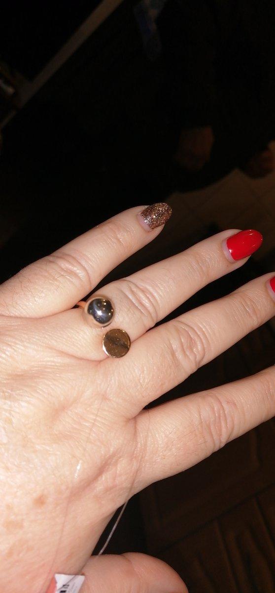 Странное кольцо.