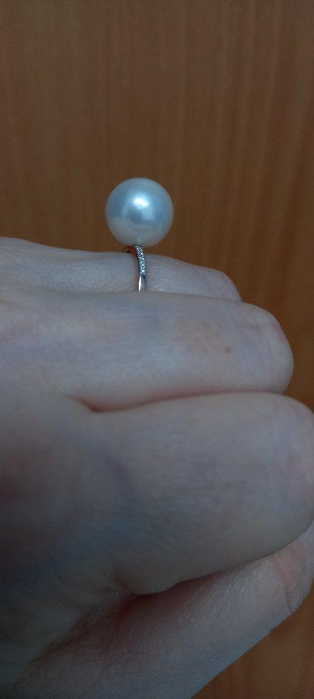 Чудесное жемчужное кольцо