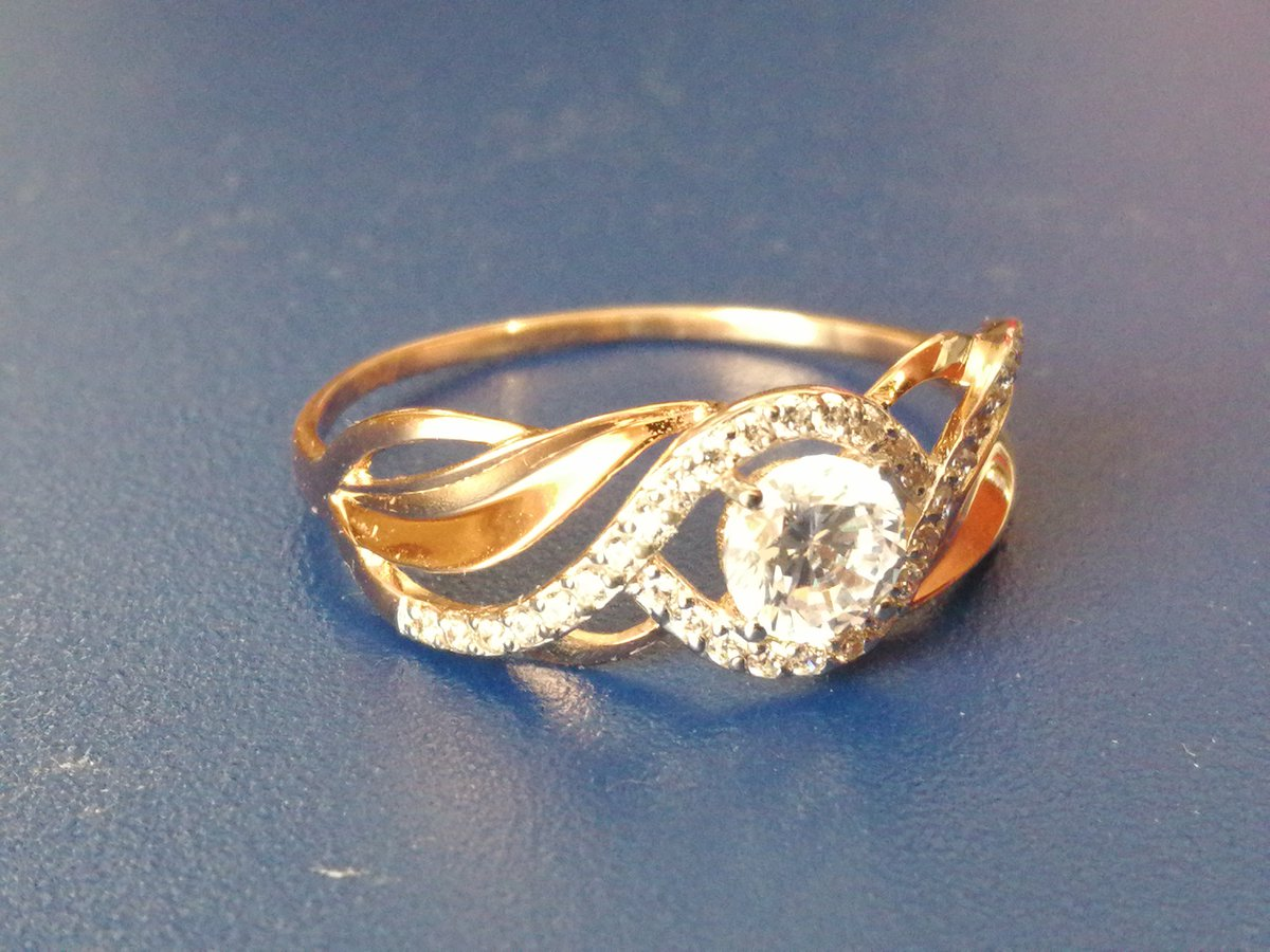 Кольцо 💍 золотое женское