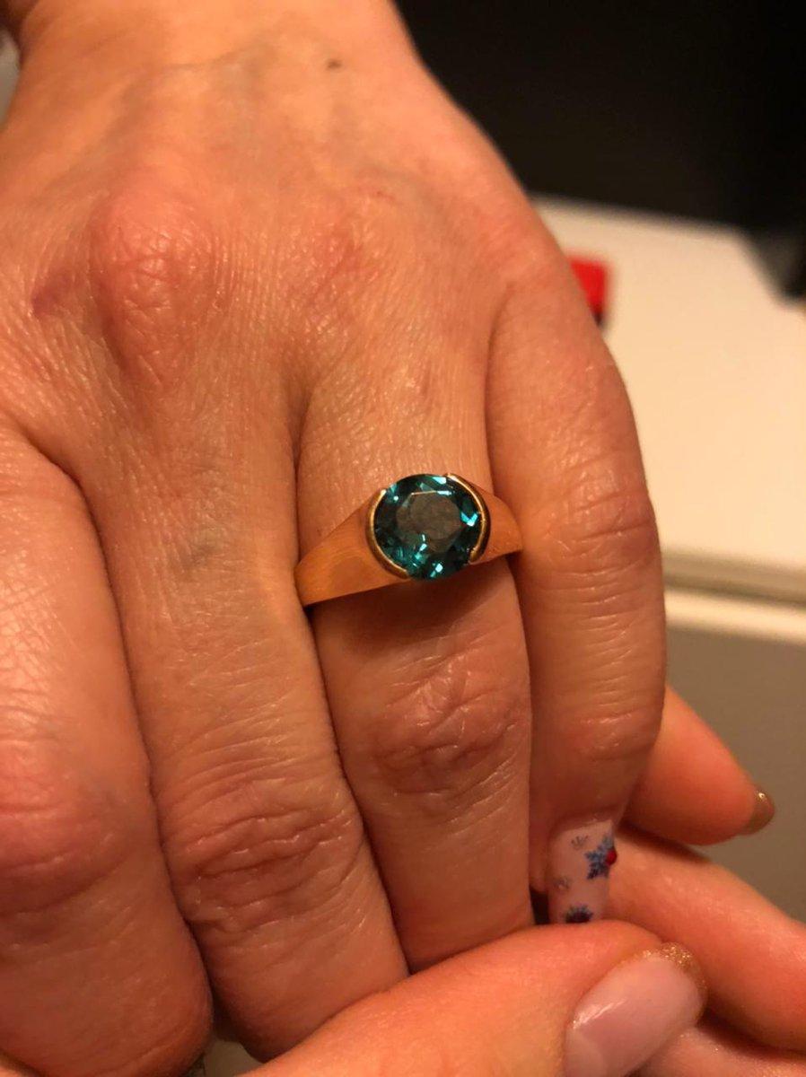 Кольцо с тапасом
