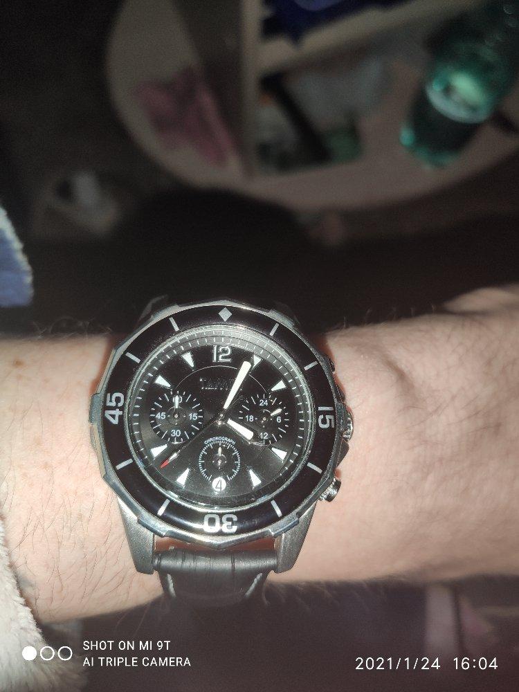 Обменял прошлые часы на эти.