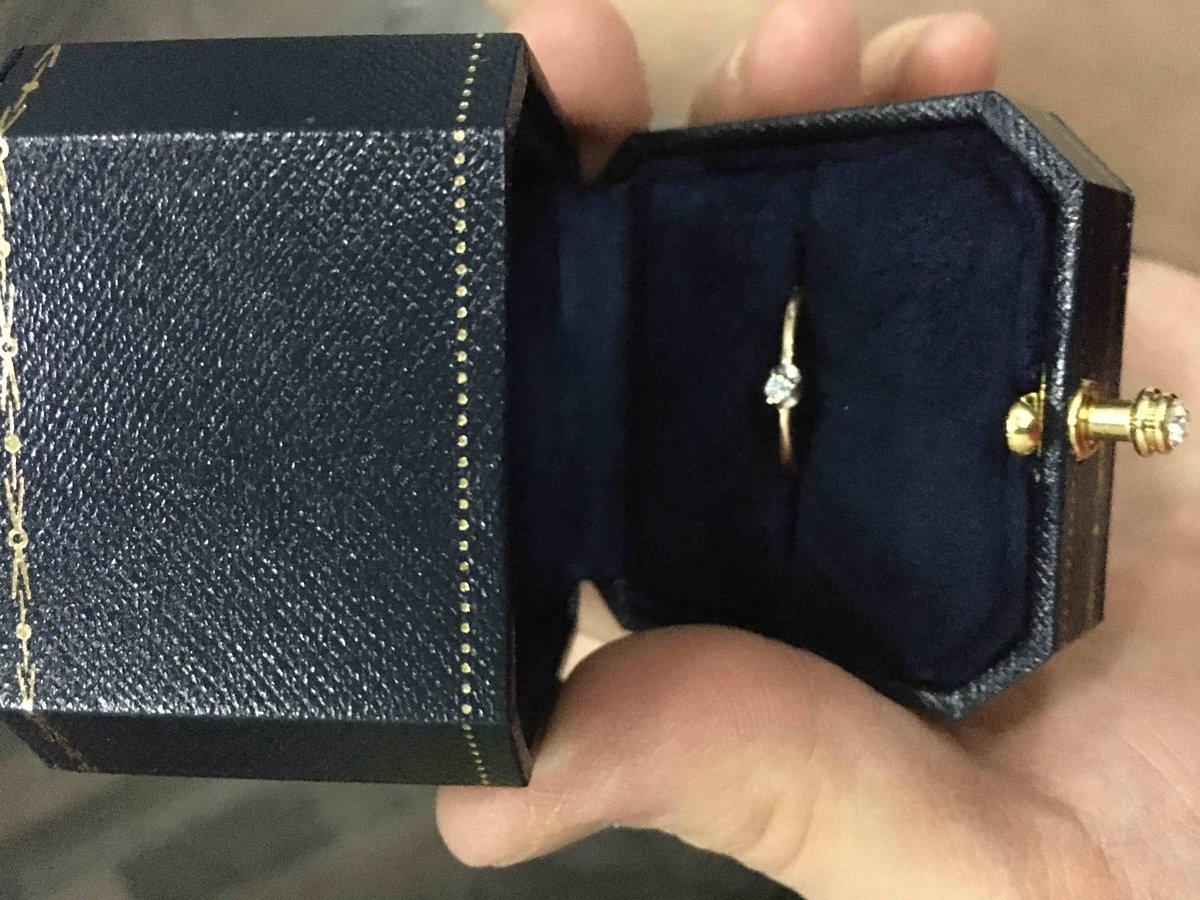 Кольцо с брилилантом