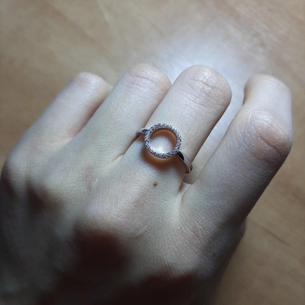 Кольцо с кругом