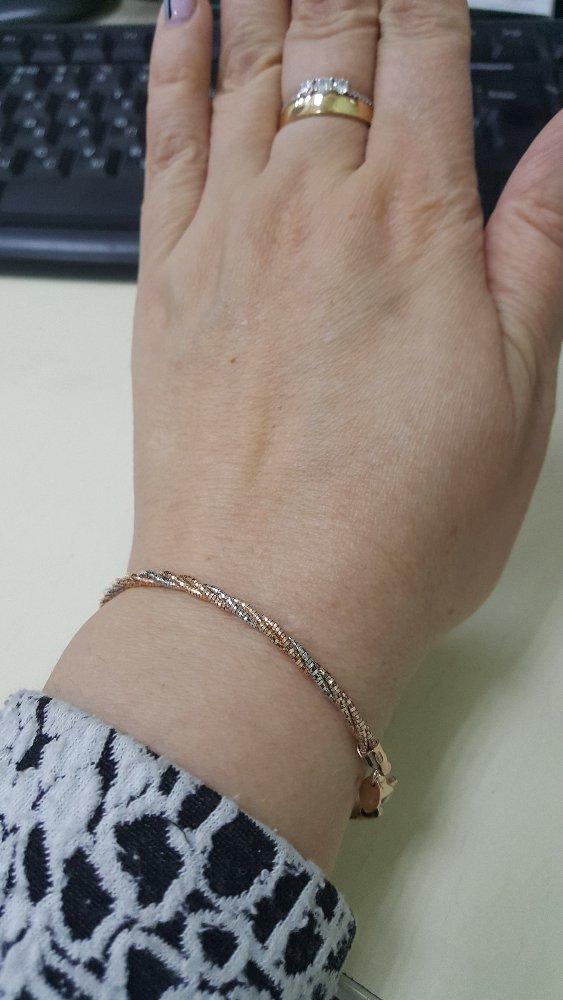 Серебрянный брасслет