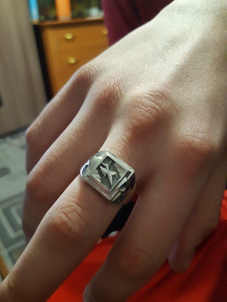 Кольцо ,серебро.