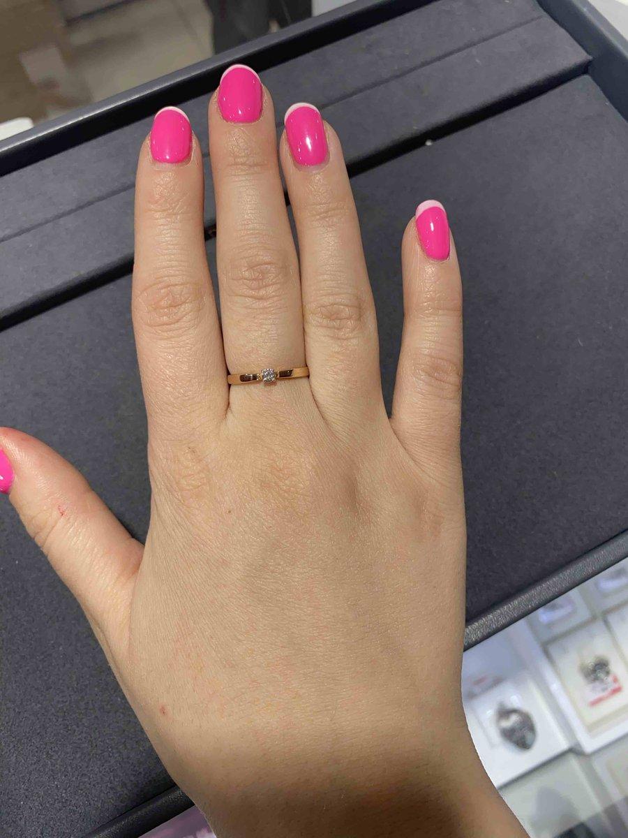 Красивое, нежное, женственное кольцо
