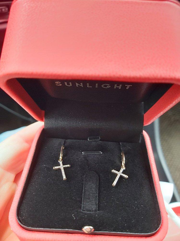 Крестики с брильянтами