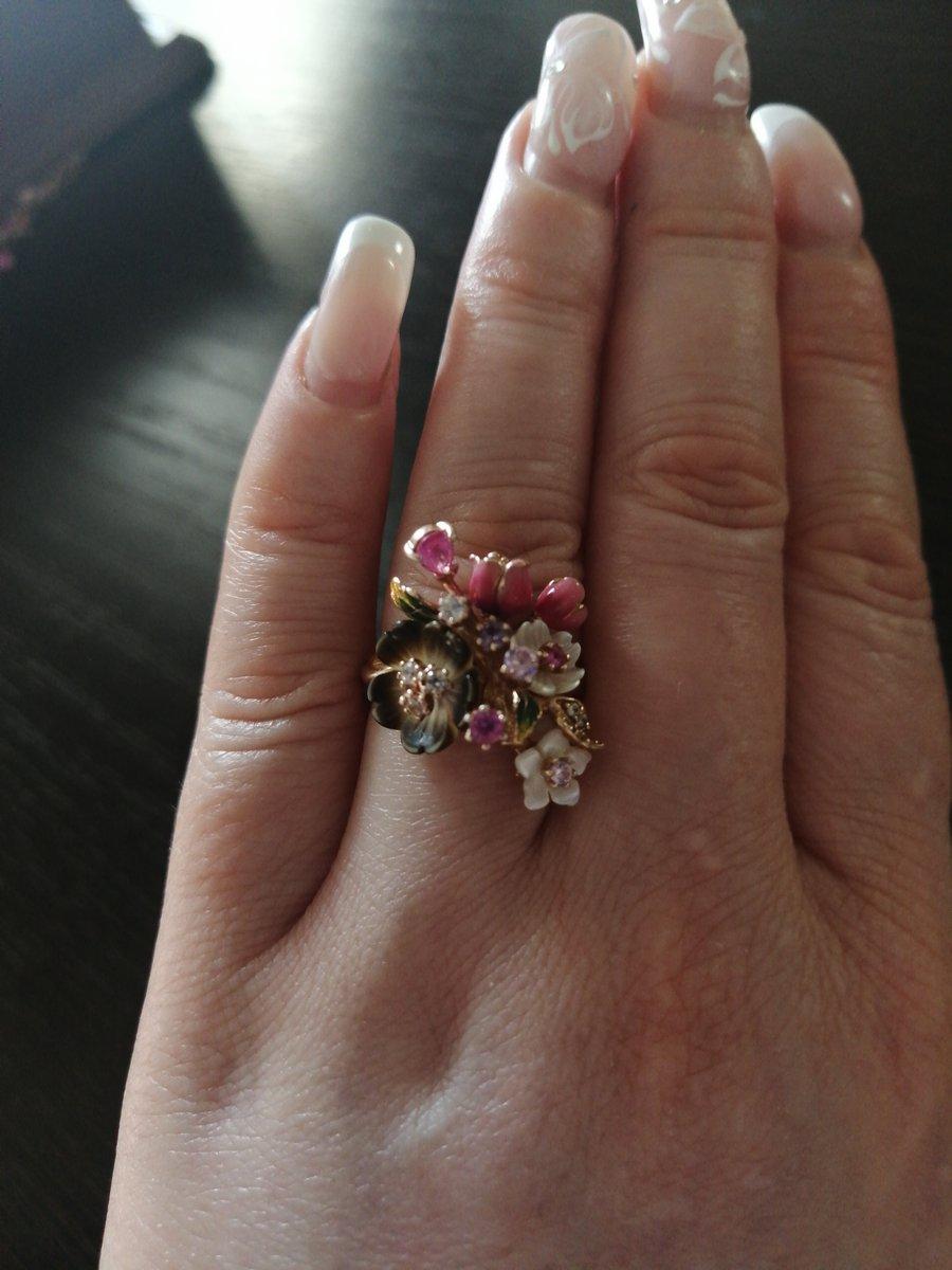 Красивое кольцо, советую к покупке