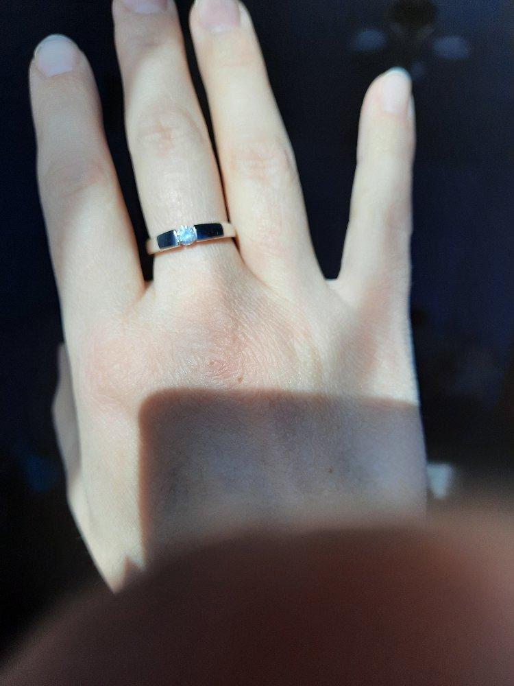 Кольцо в стиле минимализм
