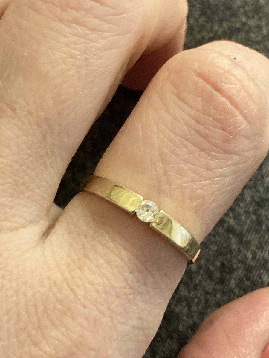 Кольцо в желтом золоте