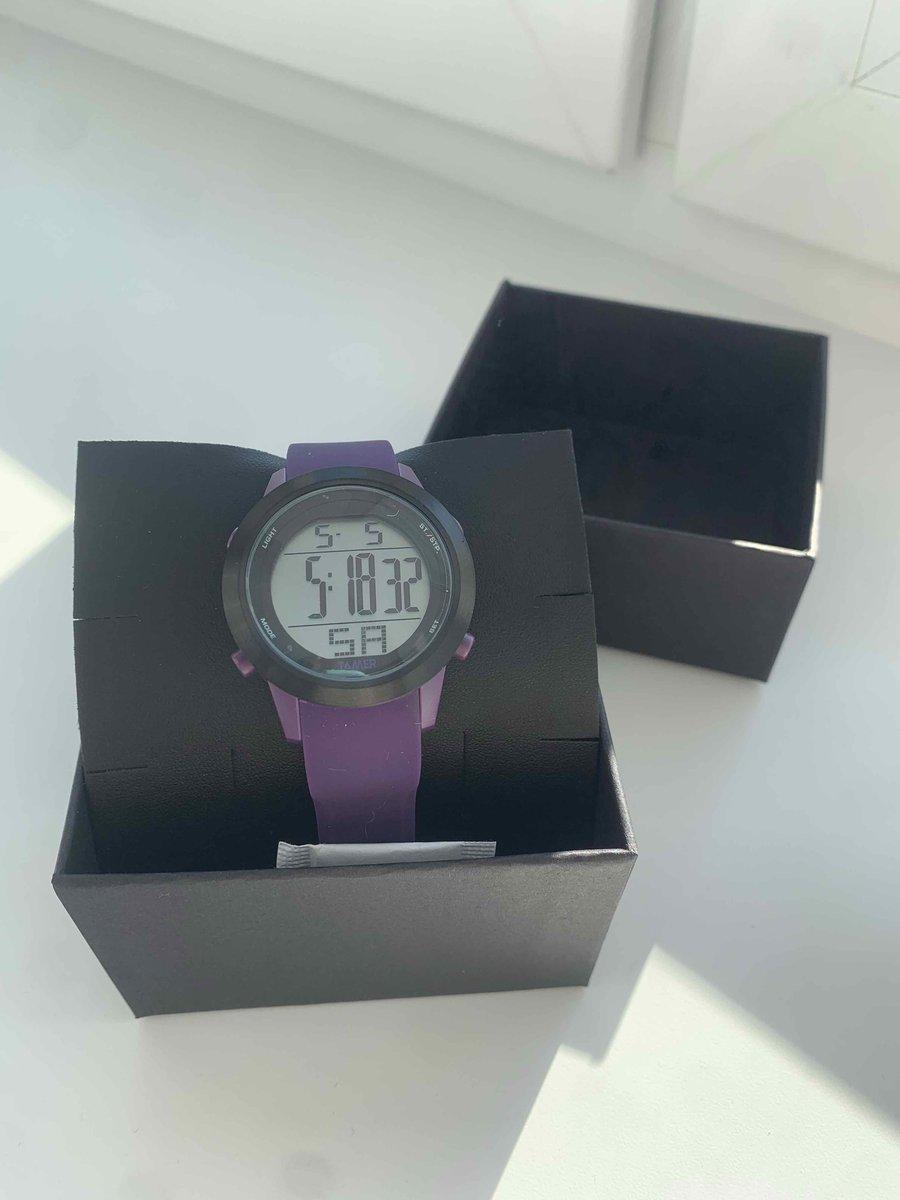 Покупала часы сегодня