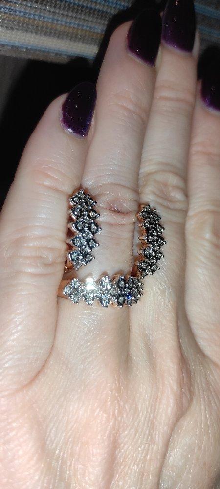 Серьги с бриллиантами от любимого мужа на день рождения 🤗