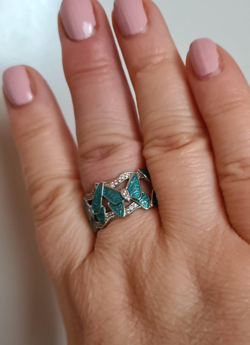 Кольцо с бабочками!
