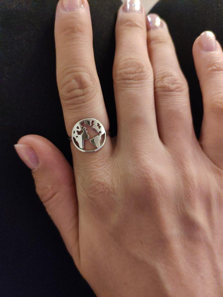 Лёгкое и милое кольцо :)