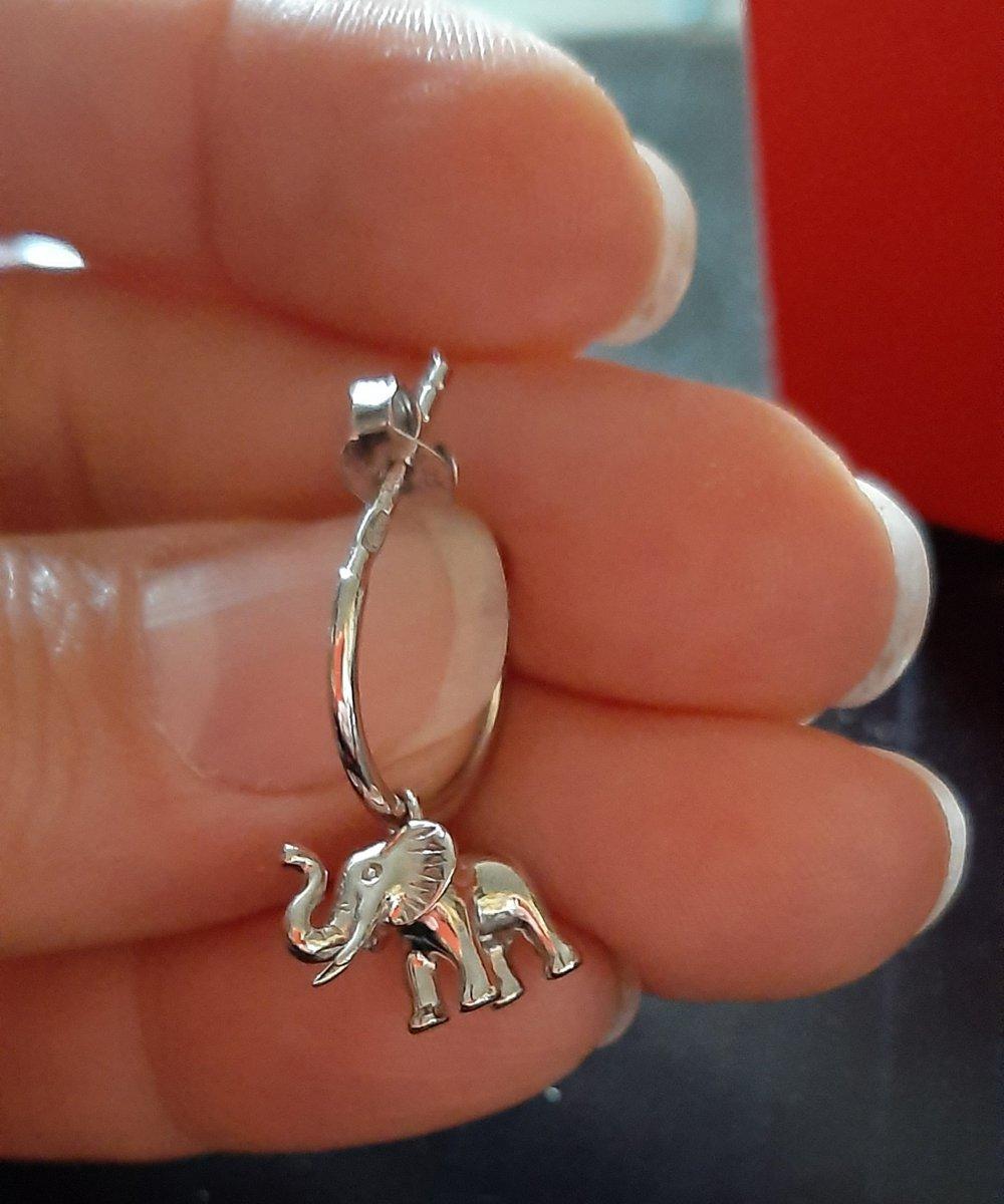 Серьги - слоники