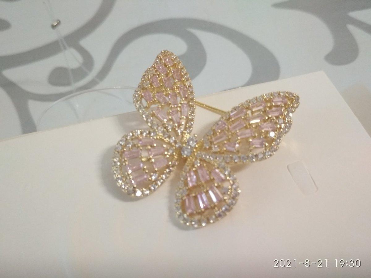 Сверкающая бабочка