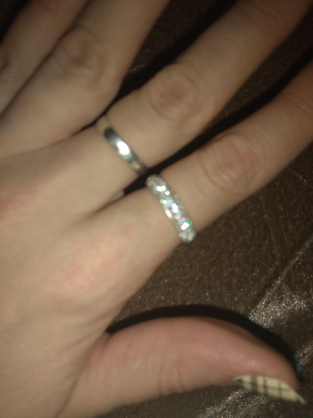 Кольцо серебряное 925пробы с фианитами