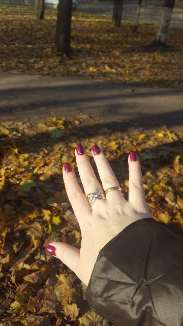 Прекрасное кольцо.  Удобное.