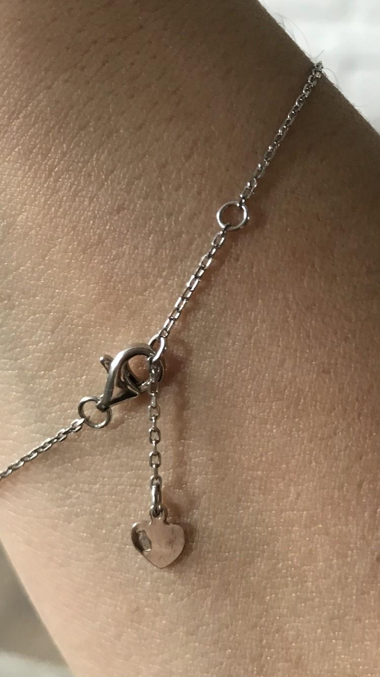 Нежный браслет-цепочка