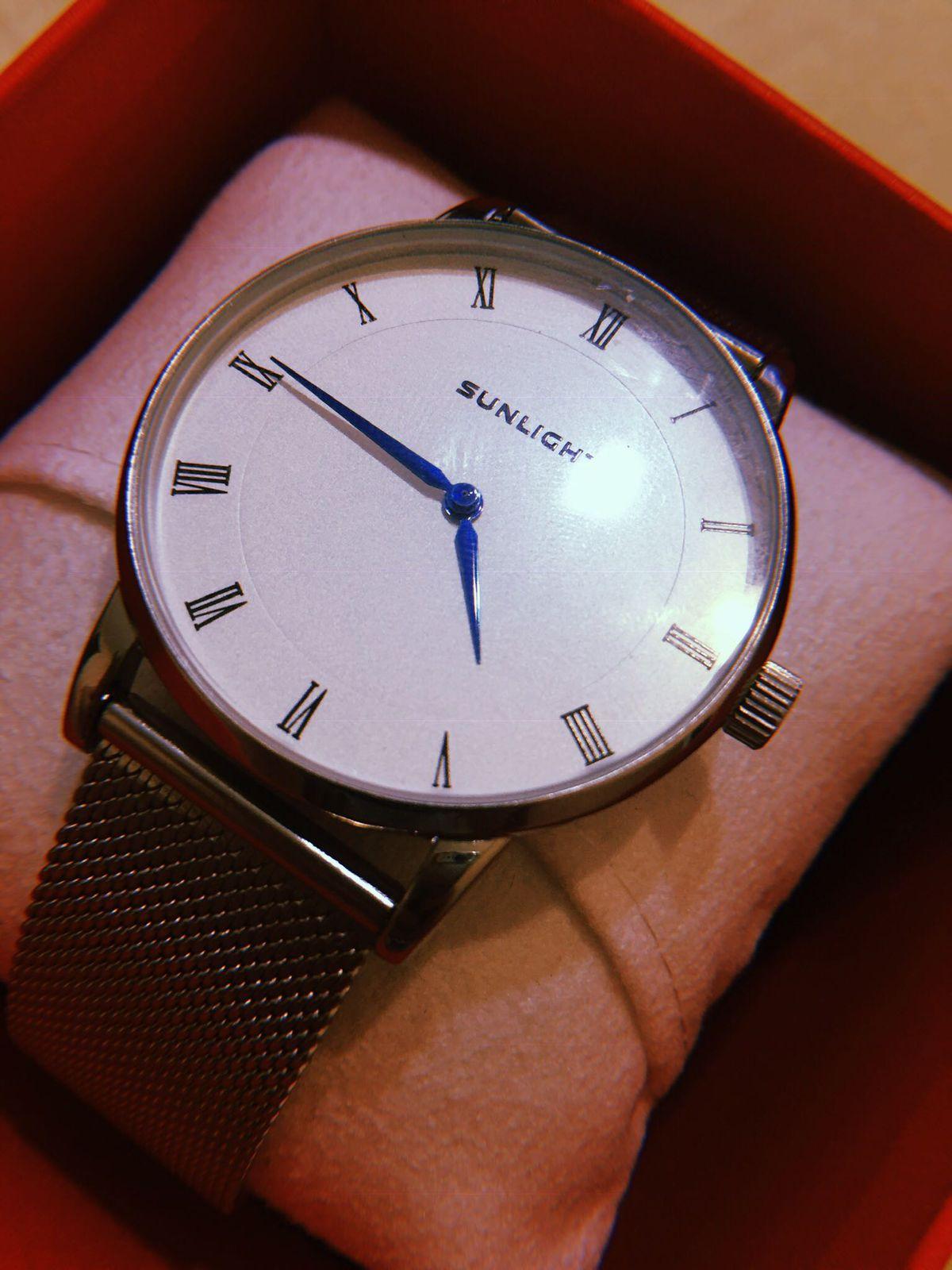 Заказала часы