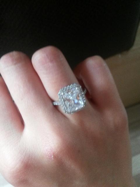 Восхитительное кольцо. Аналог Tiffany&Co.