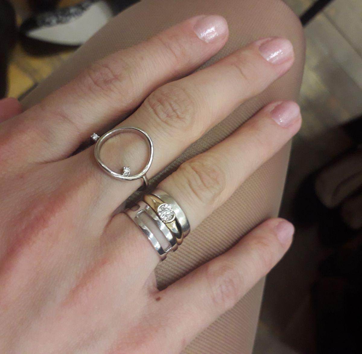 Прекрасное кольцо для тех,кто любит комбинировать!