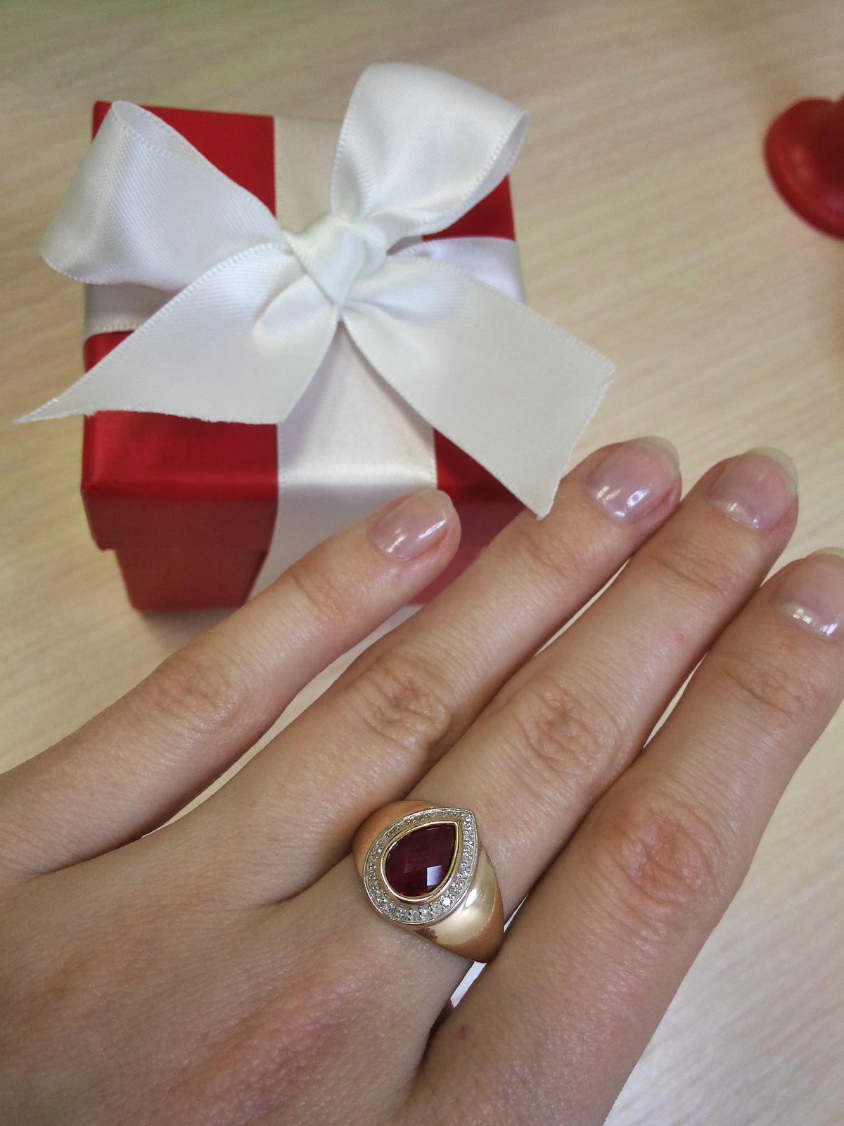 Лаконичное кольцо со вкусом