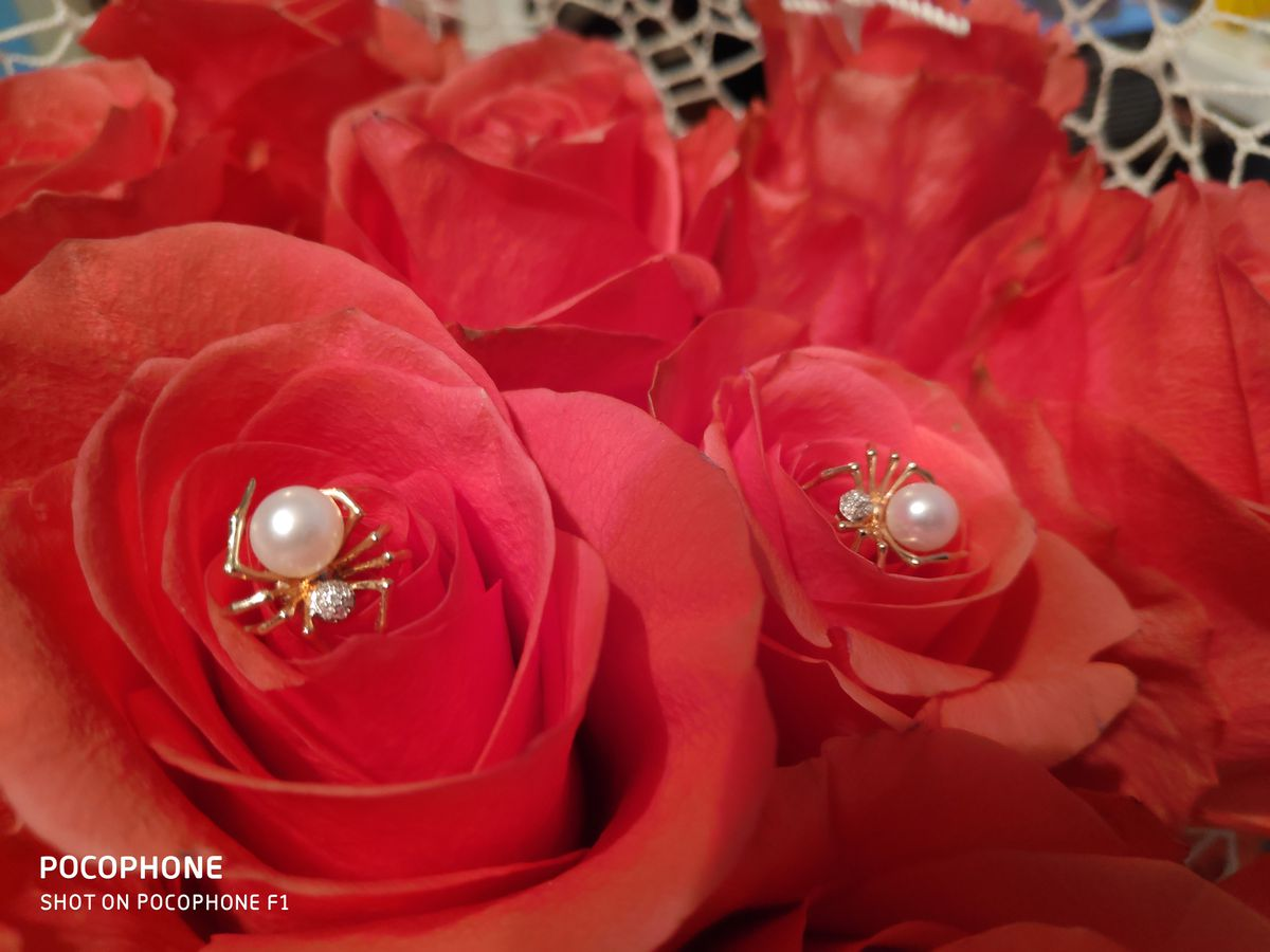 Бриллианты и жемчуг