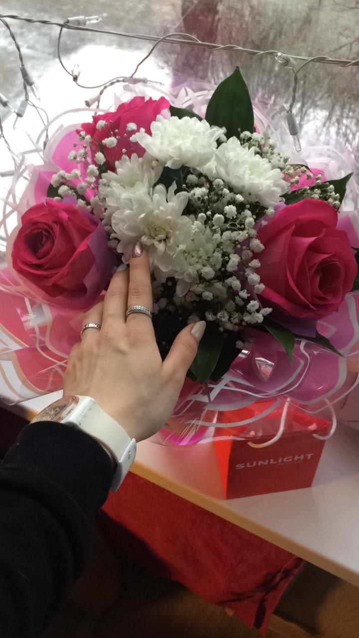 Очень красивое и нежное кольцо!