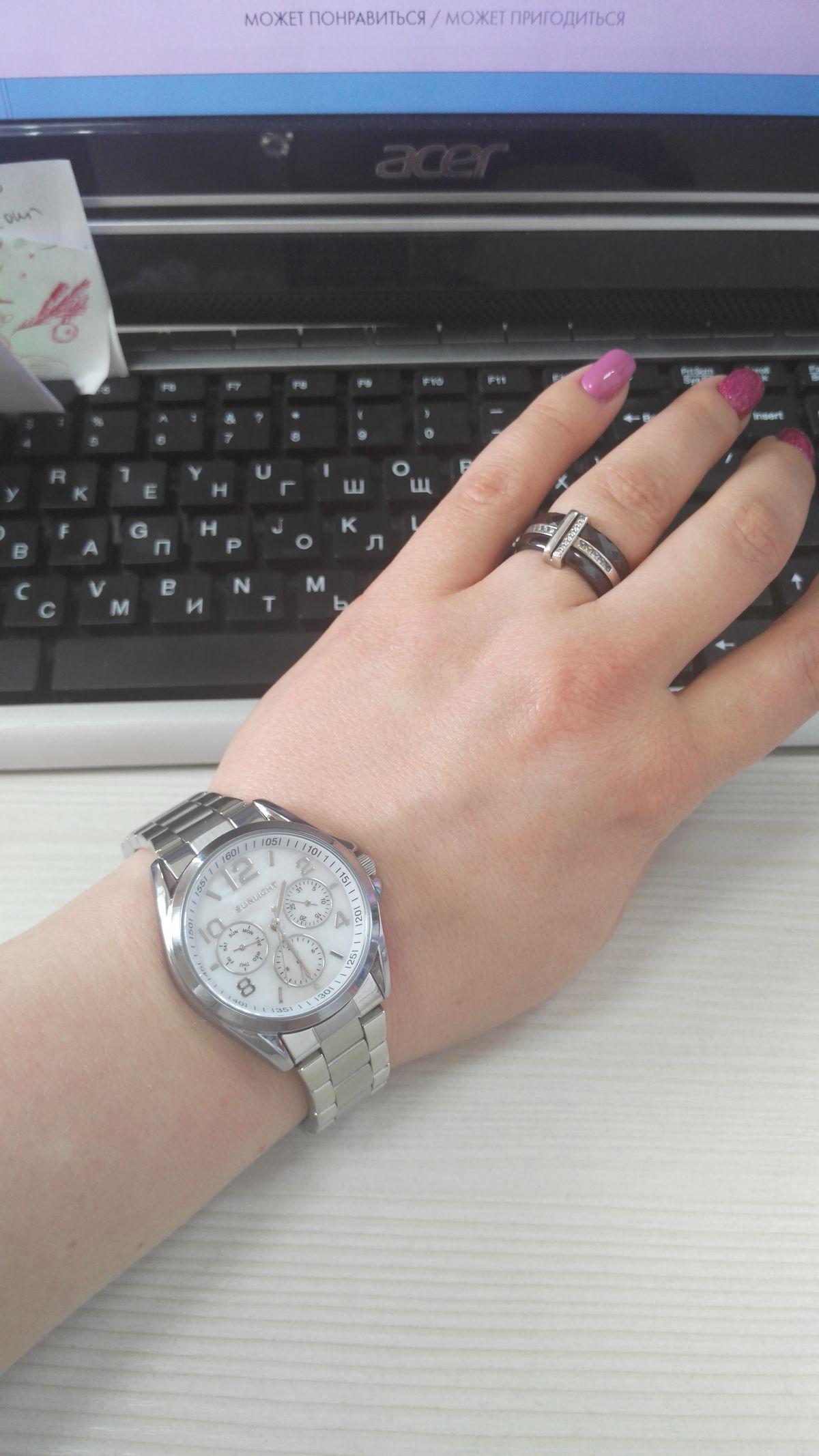 Отличные часы!!!! Я в восторге!!!))))