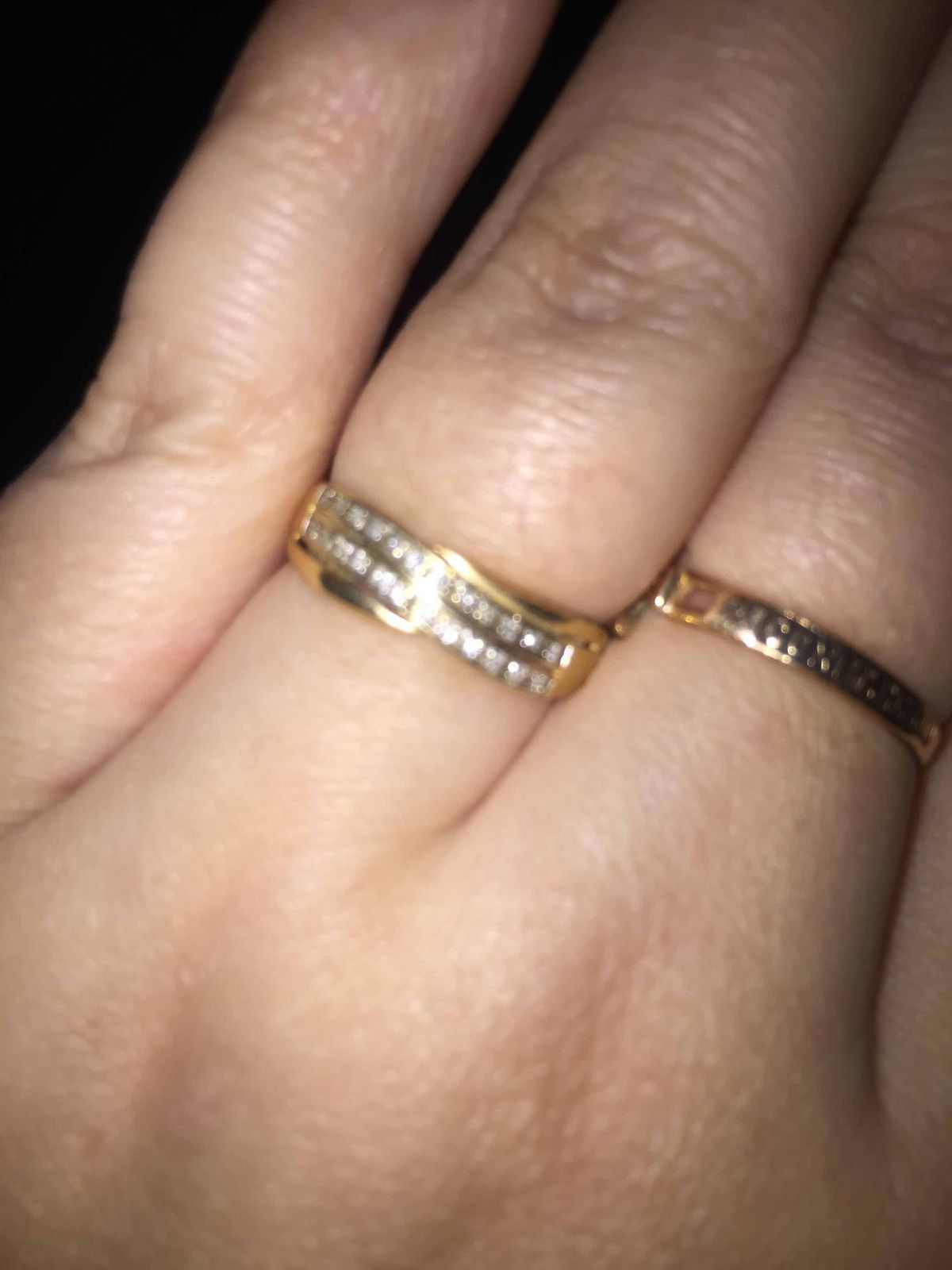 Кольцо , золото с бриллиантами