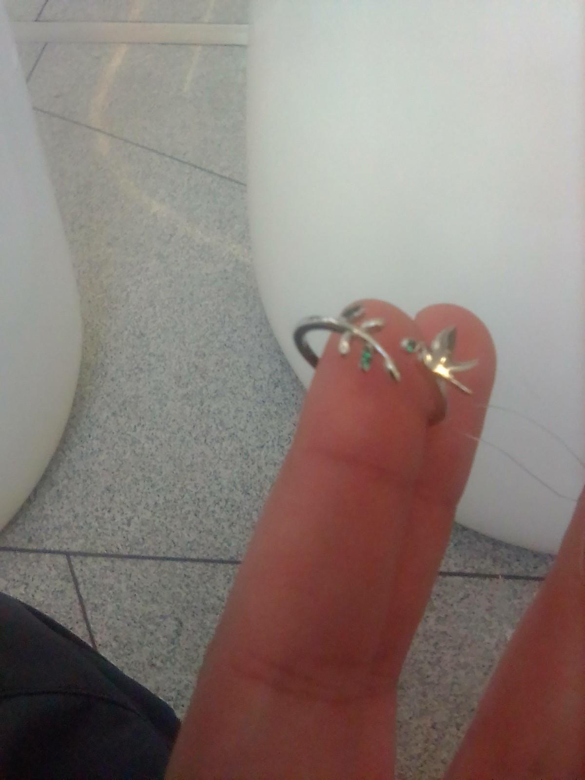 Отличное кольцо, очень довольна им!