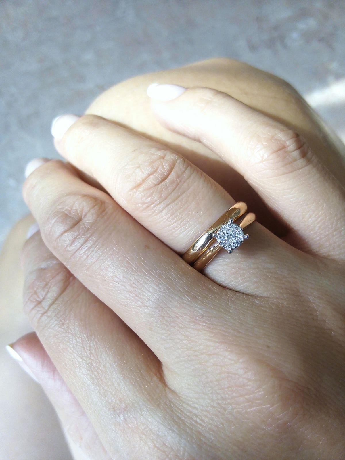 Золотое кольцо SUNLIGHT