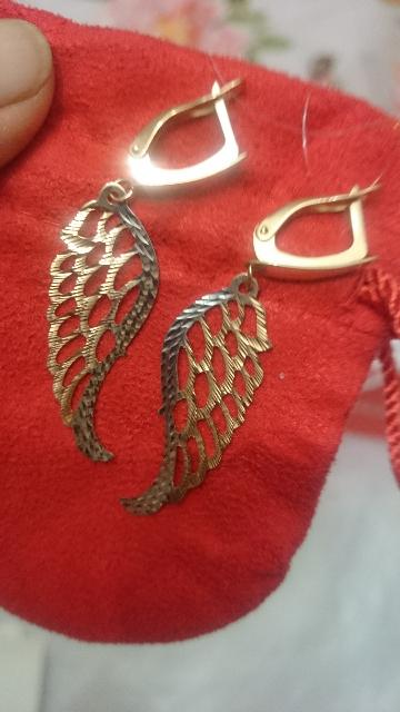 Крылышки золотые!