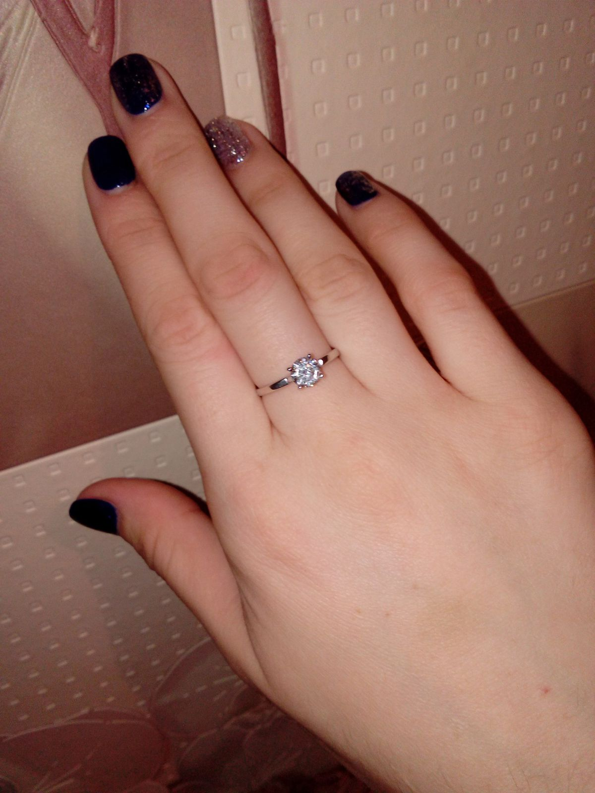 Очень элегантное кольцо!
