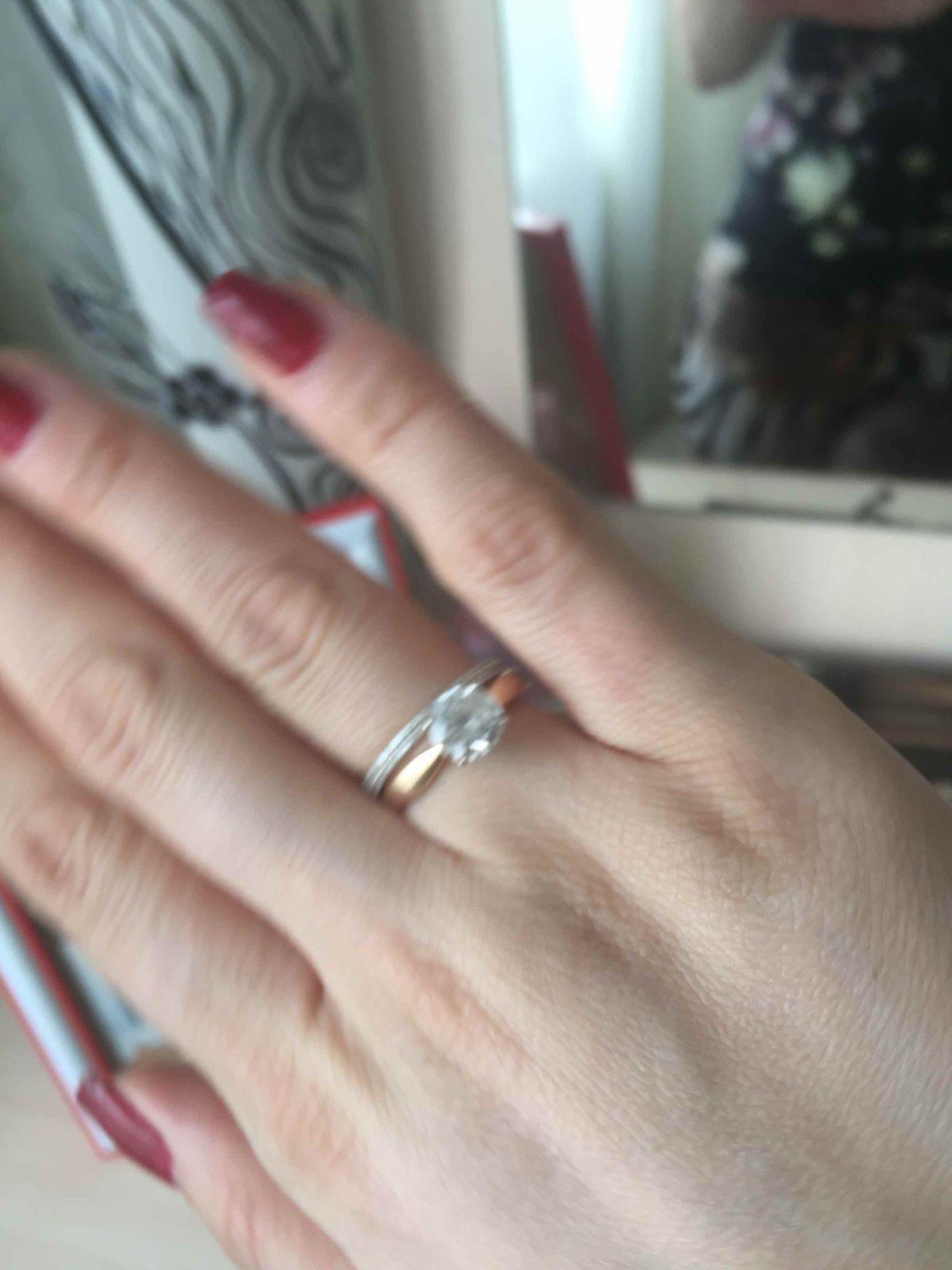 Кольцо, красивое